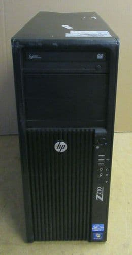 HP WorkStation Z210 CMT Tower Quad Core i7-2600 3.4GHz 4GB 500GB PC Win 10